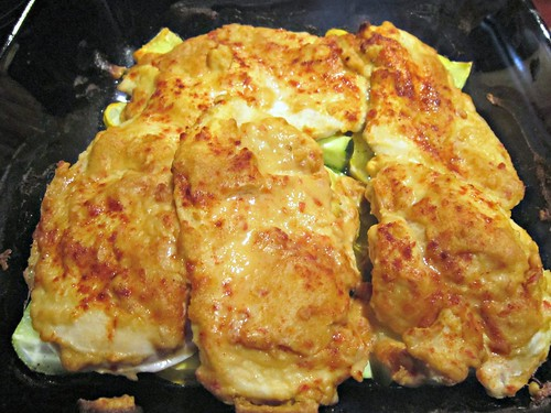 Hummus Crusted Chicken