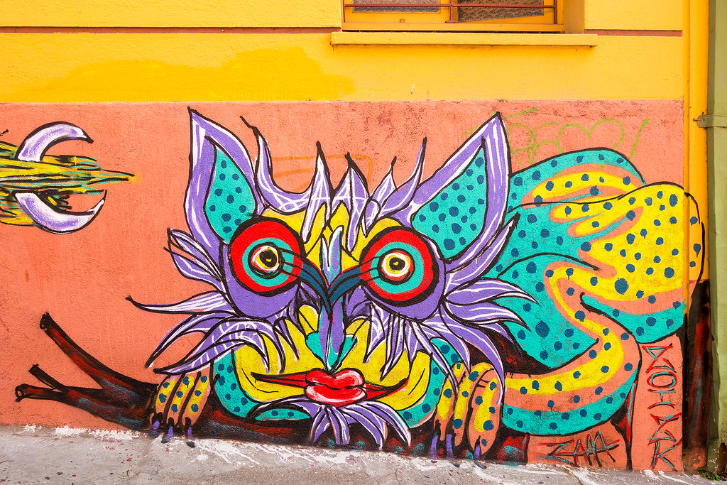 Street Art Valparaiso 10