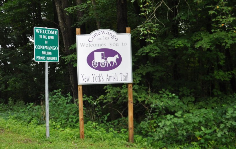 Conewango is on New York's Amish Trail