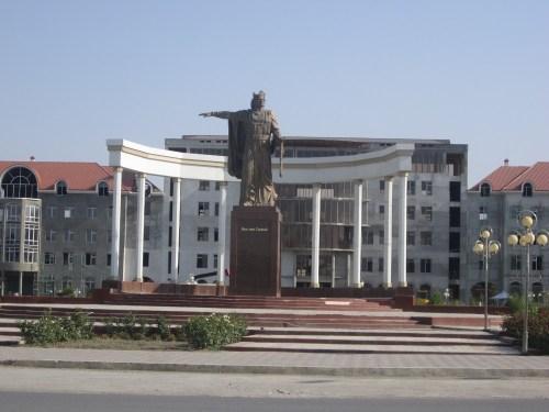 Памятник Исмоили Сомони