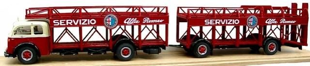 Gila Alfa 900 trasporto auto