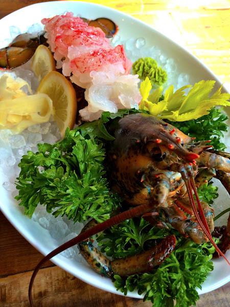 Lobster Sashimi, Dami Sushi & Izakaya