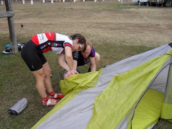 New tent