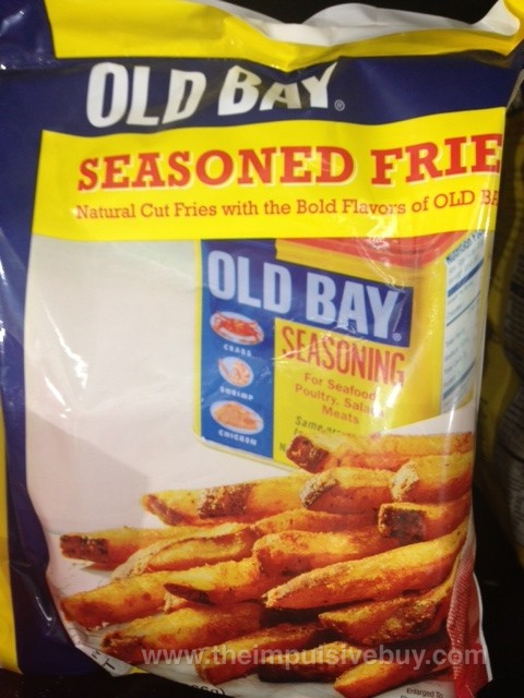 Old Bay Seasoned Fries