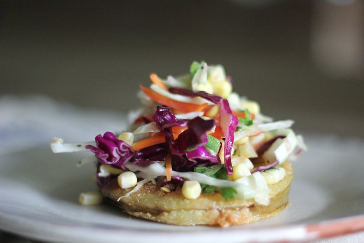 Buttermilk Fried Green Tomatoes W- Spicy Sweet Corn Slaw 10 (1 of 1)