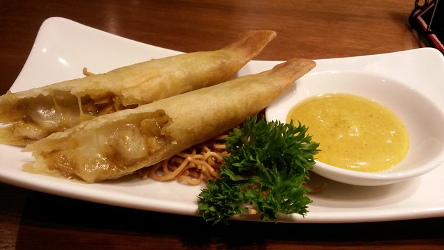 curry spring roll