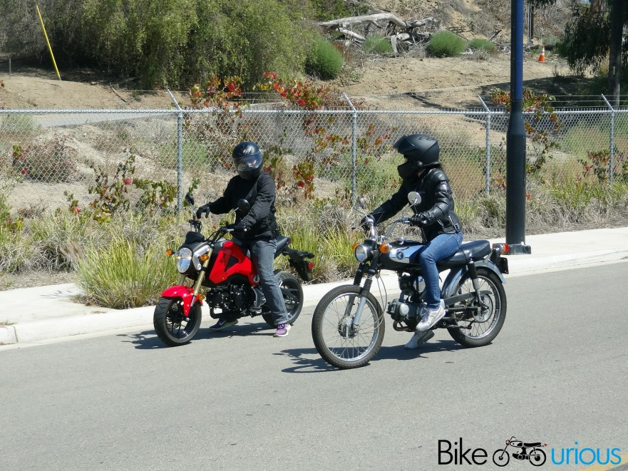 Honda Grom - with S90