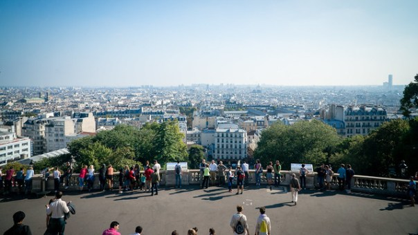 Paris skyline from the Sacré-Cœur Basilica