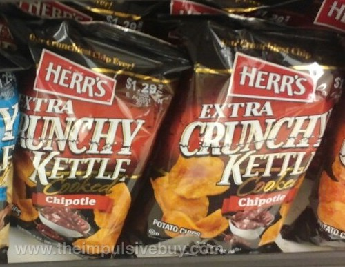 Herr's Extra Crunchy Kettle Cooked Chipotle