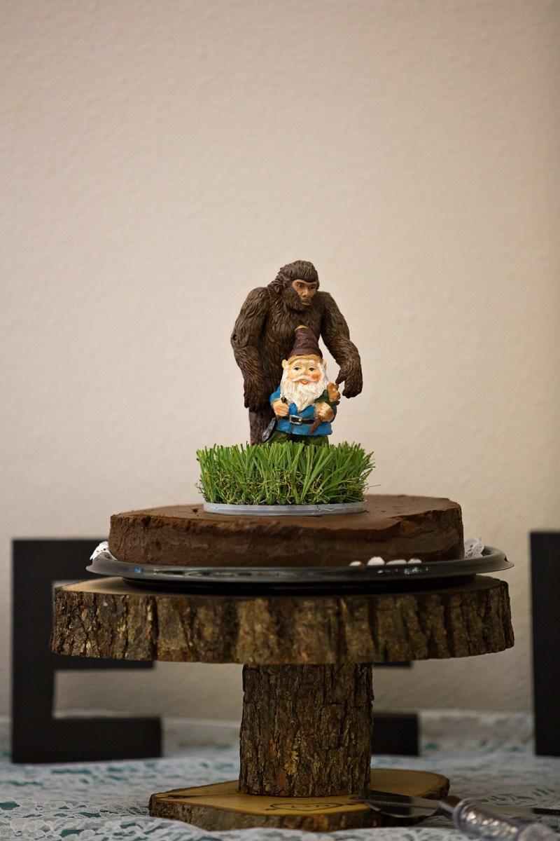 Gnome and Sasquatch
