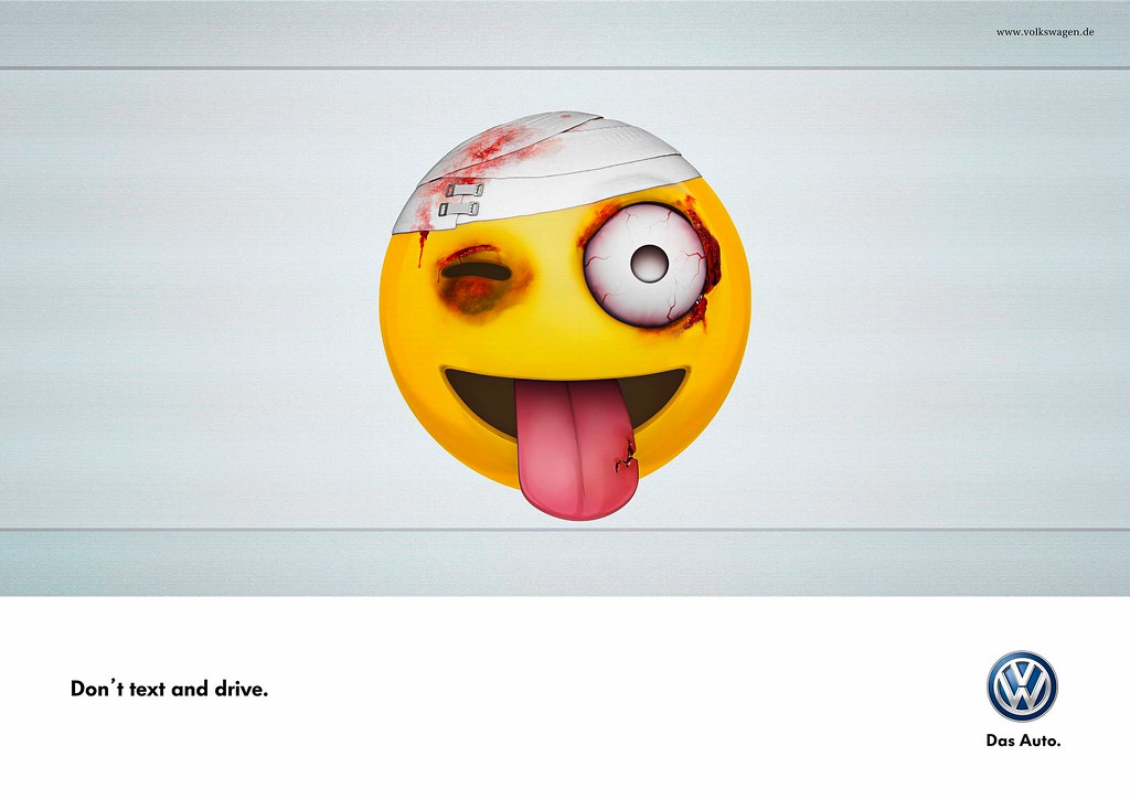 VolksWagen - Dnt Txt And Drive 1
