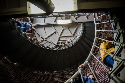 Umpqua Lighthouse Stairs