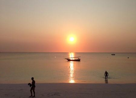 tramonto @ Babobab Beach Resort Zanzibar