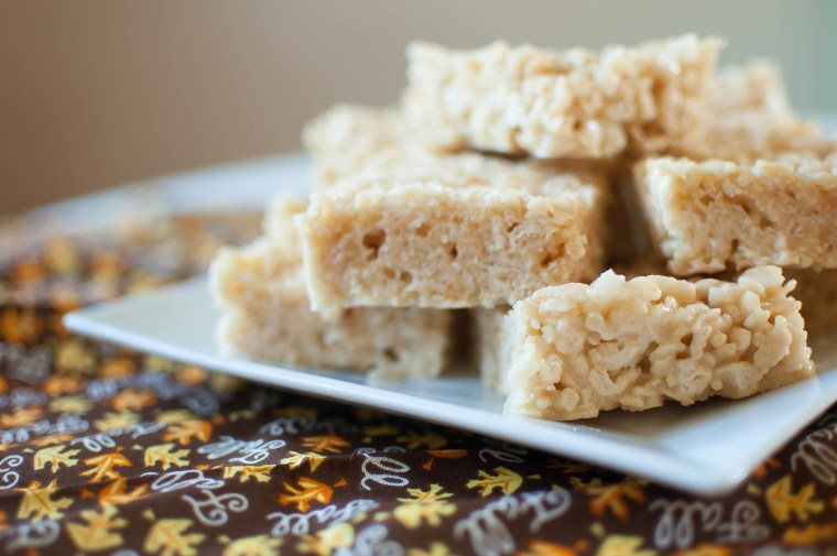 Salted Caramel Rice Krispies 3
