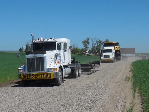Convoy leaving