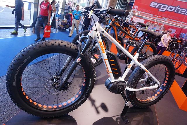 Eurobike 2014: KTM electric fatbike