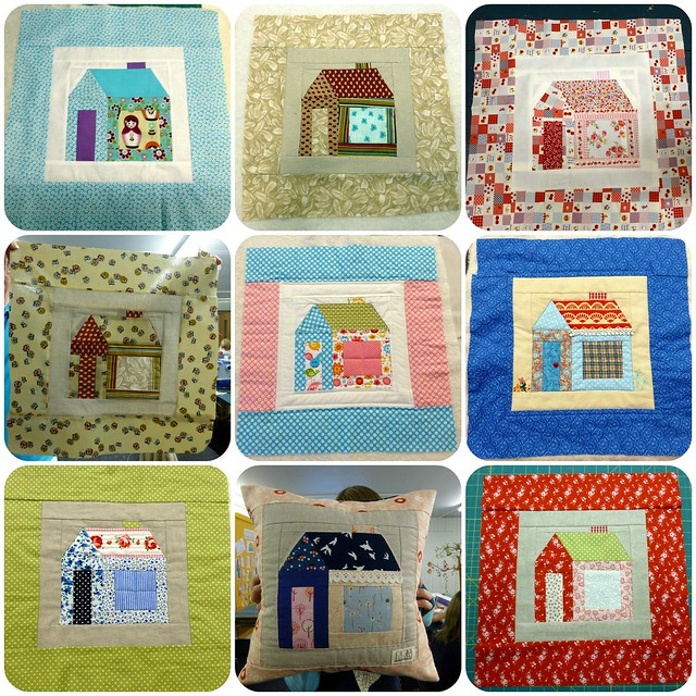 Schoolhouse cushion workshop Aug14
