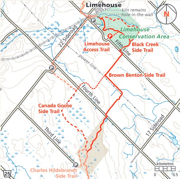 Limehouse & Speyside Map