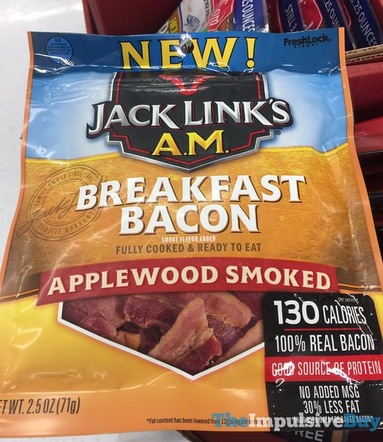 Jack Link's A.M. Applewood Smoked Breakfast Bacon