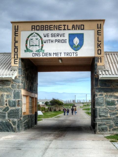 Robben Island Prison Museum Entrance.