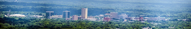 Greenville from Paris Mountain-1