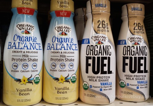 Organic Valley Organic Fuel and Organic Balance 2