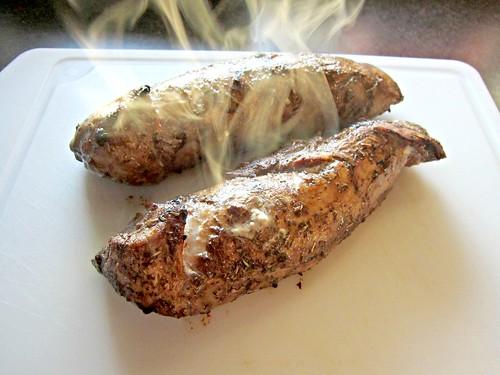 Balsamic-Herb Pork Steam