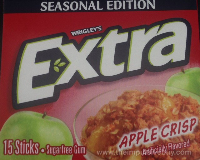 Wrigley's Extra Seasonal Edition Apple Crisp Gum