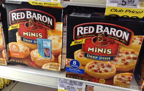 Red Baron Minis Deep Dish Pizzas