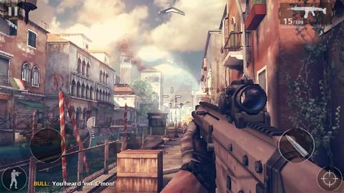 เกม Modern Combat 5: Blackout บน Samsung Galaxy Mega 2