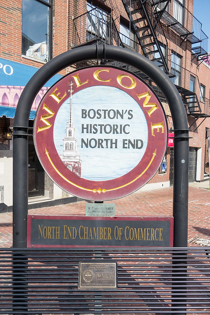Welcome to Boston's North End