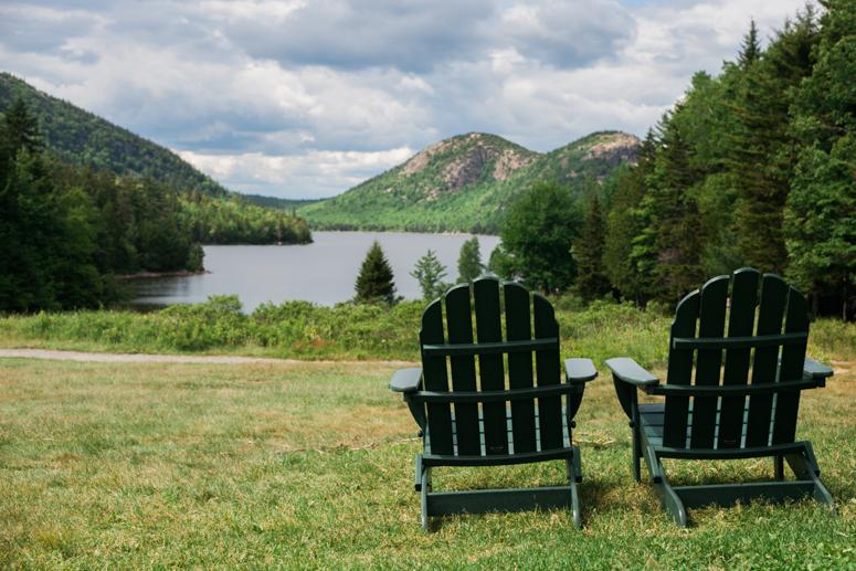 Acadia National Park | Jordan Pond House