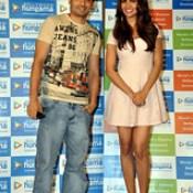 Esha Gupta & Jaey Gajera together at the Promotions of Bollywood Film ' Humshakals '  https://twitter.com/jaeygajeraindia  #Humshakals #SajidKhan #VashuBhagnani #SaifAliKhan #RiteishDeshmukh #TamannaahBhatia #EshaGupta #BipashaBasu #RamKapoor #HimeshResha.
