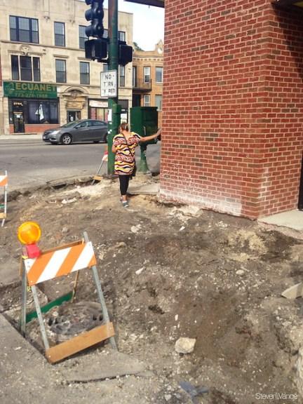 Dangerous construction site conditions