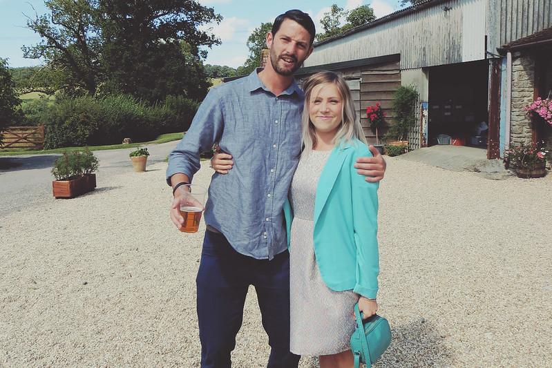 Luke and Laura wedding