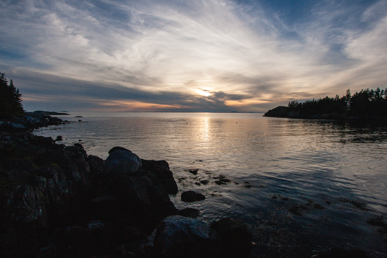duck harbor campground, acadia national park