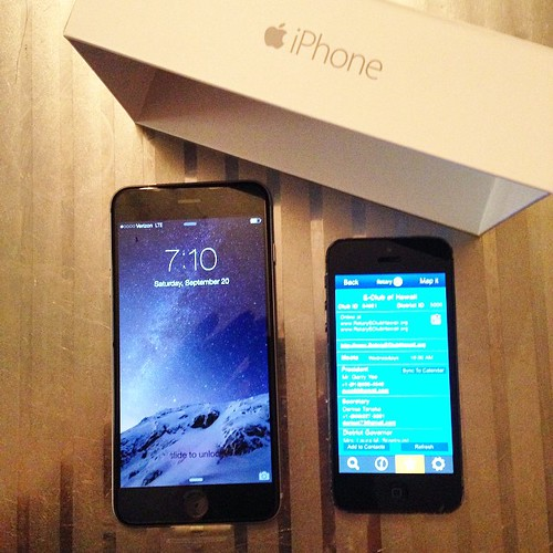 Please welcome #Hawaii's newest resident to it's new home in the #aloha state. (I'm just the delivery guy, but it's gorgeous.) #iPhone6 #iPhone6Plus