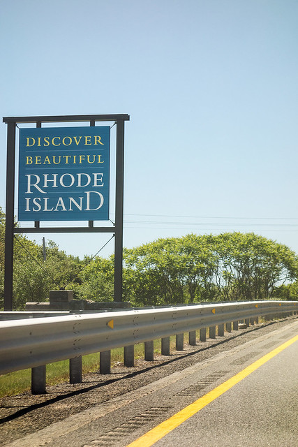 Welcome to Rhode Island.