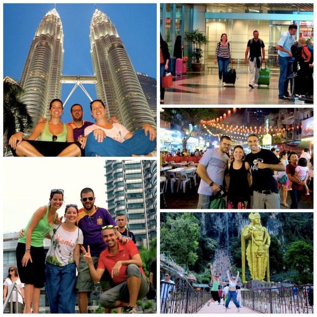 Kuala Lumpur con amigos