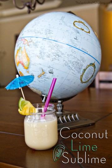Coconut Lime Sublime