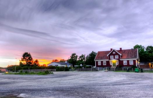 Bolsberget Solnedgång