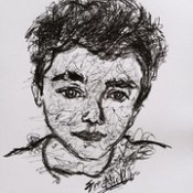 Charlie Puth scribble #scribbleartist #artist #charlieputh #music #artistonflickr #flickrart #yahooartist #artistonyahoo #music  #ballpointartist #drawings