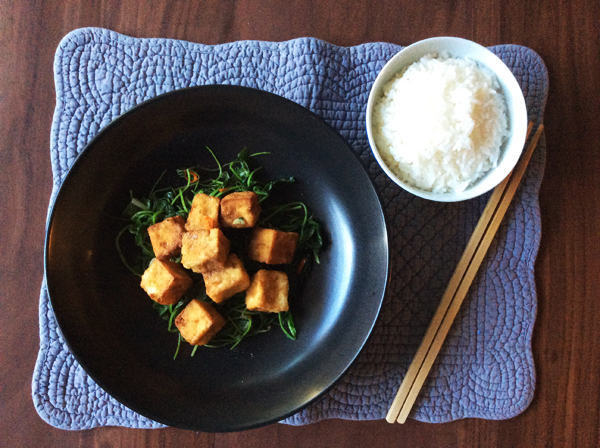 salt & pepper tofu: hero shot