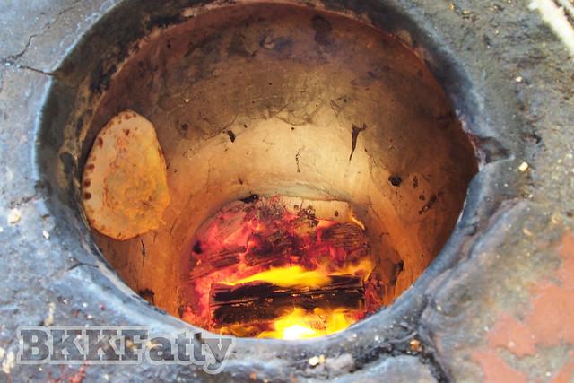 tandoor fired naan bread kapitans penang