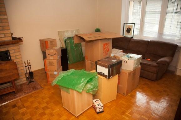 Unpacking (7/11/2014)