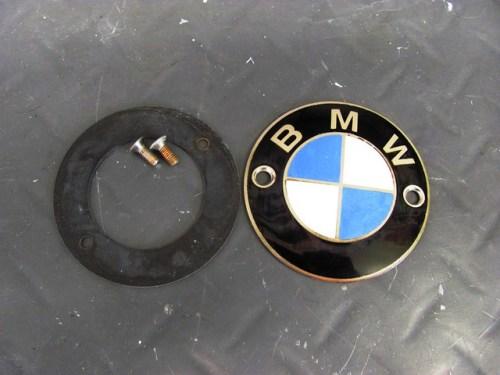 Tank Badge, Gasket and Screws