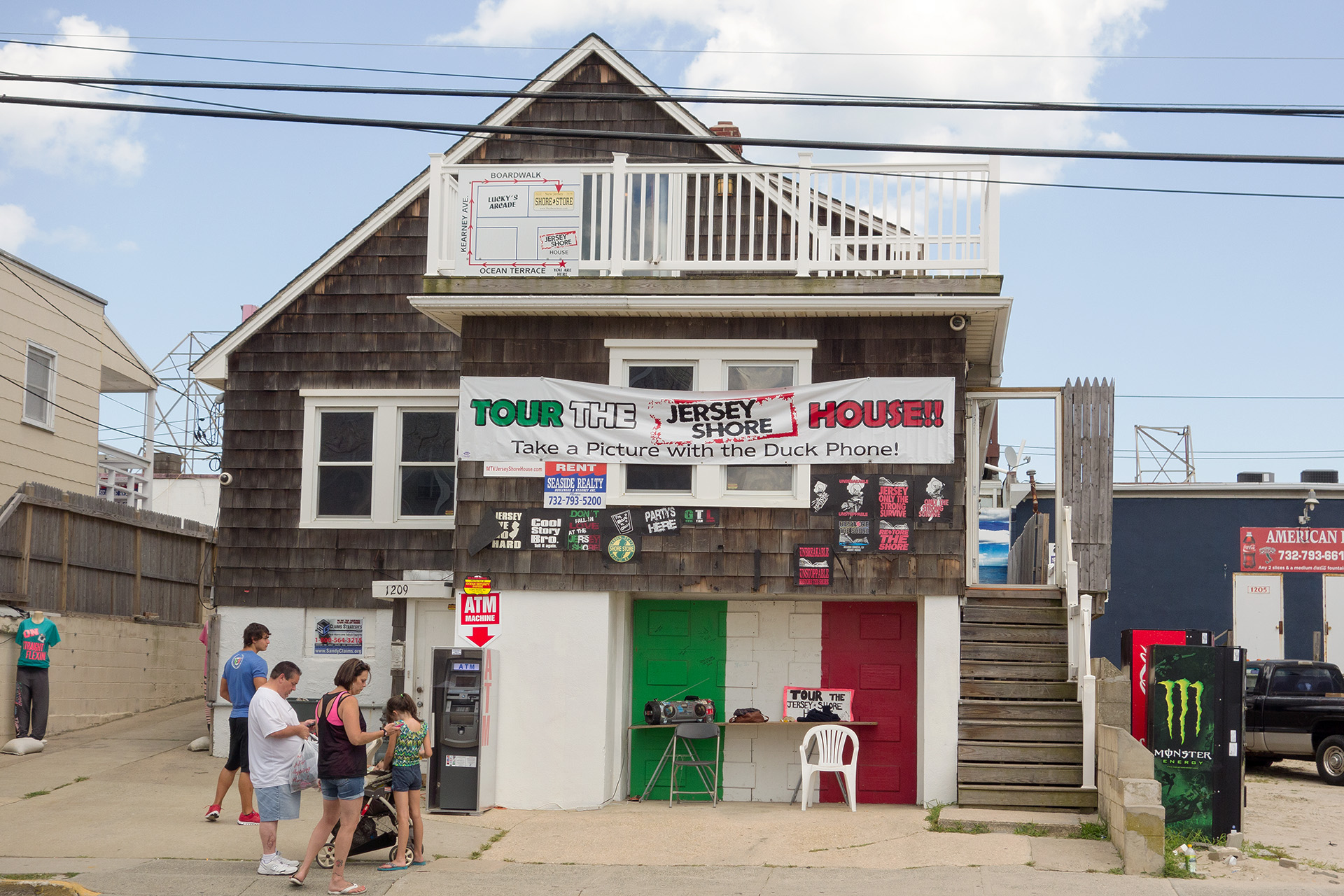 The famous Jersey Shore House.