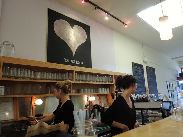 Bliss Cafe Interior