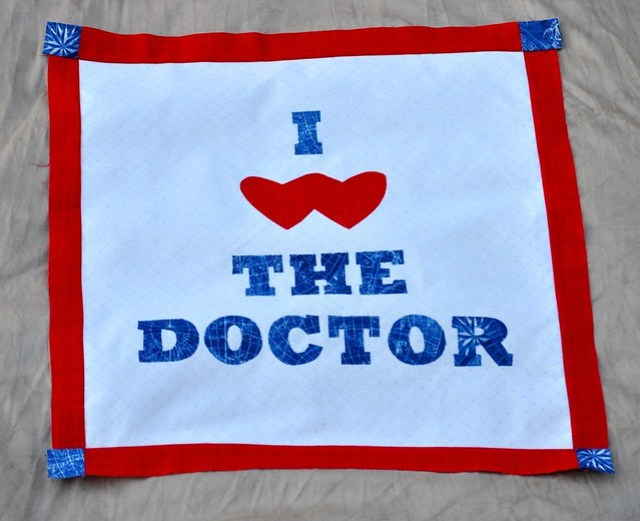 Kimberly's Doctor Who Quilt