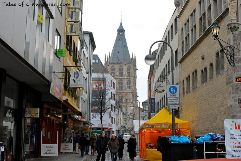 KÖLN - Alter Markt / Kölner Rathaus